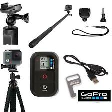 "GoPro El GRANDE 38""  POLE +7"" FLEXIBLE TRIPOD + REMOTE FOR GOPRO HERO 5 6 BLACK"