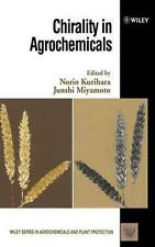 Chirality in Agrochemicals by Junshi Miyamoto (English) Hardcover Book Free Ship