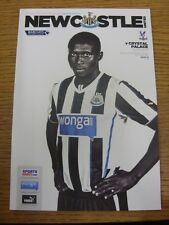 22/03/2014 Newcastle United v Crystal Palace  . Condition: Listed previously in