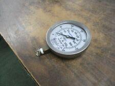 Simplex Grinnell Air/Water Pressure Gauge W 101 0-300PSI Used