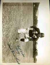Frank Bruiser Kinard Jsa Coa Hand Signed  8x10 Photo Authentic Autograph