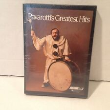 NEW Pavarottis Greatest Hits Two Cassettes With Insert PAV5 2003/2004 Sealed