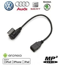 Cable USB pour autoradio MMI véhicule Audi VW Skoda Seat