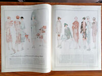 1925 Fashion Article Ad Spring Bride Dress Trousseau