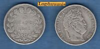 Louis Philippe I, 1830-1848 FAUSSE 5 Francs Louis Philippe I 1845 W Lille