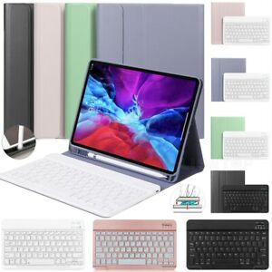 Bluetooth Keyboard Leather Case For iPad 7th 8th 10.2 Mini 2 3 4 5 Air Pro 10.5