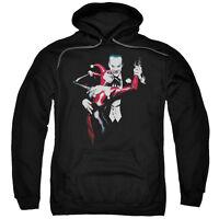 Batman HARLEY QUINN & JOKER Dance of Evil Licensed Sweatshirt Hoodie