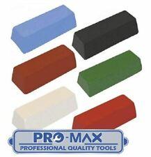 Metal Polishing Buffing Compound Pro-Max Quality 100g - 750g Bars