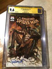 Amazing Spider-Man #19 (#820 Legacy) - CGC 9.6 - Kraven - Lucio Parrillo Signed