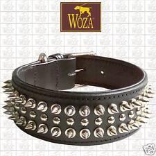 Hundehalsband Vollleder WOZA Lederhalsband Rindleder Nappa Padded Collar Hg2149