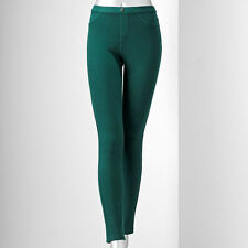 SIMPLY VERA VERA WANG chino legging size M #BOTTLE GREEN @ $12.99 & $6.99 SH