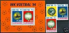 PALLAVOLO - VOLLEYBALL SURINAME 1994 set+block