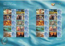 GB 2013 MNH Bangkok Thailand World Stamp Exhibition 20v Sheet Buddha Monk