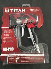 Titan RX-Pro Red Series Airless Spray Gun with a 5/17 Titan Tip & Cap: