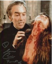 Caroline Munro photo signed In Person - Dracula A.D. 1972 - C106