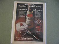 1976 Hiram Walker Blackberry Flavored Brandy - Ad