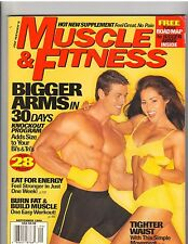 MUSCLE & FITNESS bodybuilding magazine/Denise Paglia/Christian Boeving 9-99