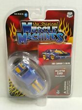 The Original Muscle Machines Series 1 1969 Chevrolet Camaro Z-28/RS Blue