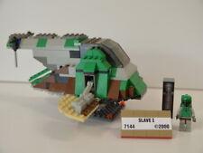 20 ) Lego Star Wars 7144 Slave 1 inkl. Figuren Boba Fetts - ohne BA
