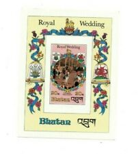 SPECIAL LOT Bhutan 1981 321 - Royal Wedding - 50 Souvenir Sheets - IMPERF