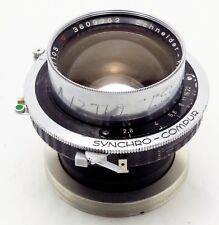 Xenotar 105mm f/2.8 Lens with defected Compur shutter for large format camera