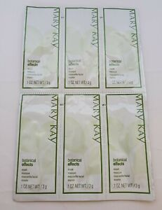 Lot Of 6 Samples Mary Kay Botanical Effects Mask