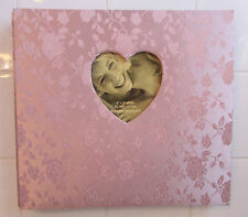 Wedding/Sweetheart Photo Album/ Pink/Mauve/Satin Cloth