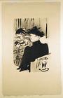 Une Spectatrice Original 1893 Lithograph by Henri de Toulouse-Lautrec Witrock 27