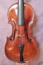 Sehr alte Geige m. 2 Zetteln -- Very old violin