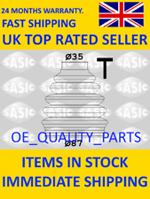 Outer CV Joint Boot Kit Rear SASI 2933033 for Peugeot Partner 307 806 Ford C-Max