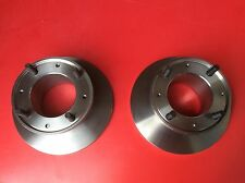 "NEW 1 x PAIR BRAKE DISCS 7.5"" GBD101 CLASSIC MINI EARLY 1275 COOPER S 10"" WHEEL"
