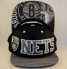 adidas BROOKLYN NETS NEW YORK NBA Basketball WOOL Adjustable Snapback Hat NWT$26