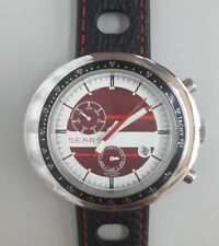 Seers automatic watch tachymeter scale daydate NOS-Style unworn XXL case