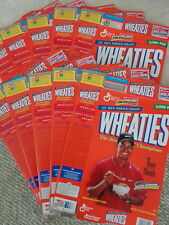 WHEATIES - TIGER WOODS PREMIER 1998 LARGE BOX (10) TOTAL - CLASSIC COLLECTIBLE