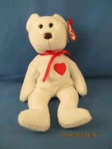 Valentino 4058 ty beanie baby brown nose date 2/14/94 with multiple errors rare