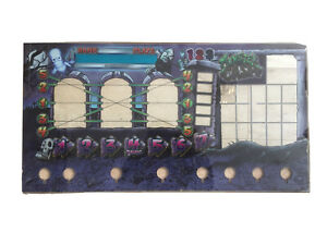 AC Games Monster Cash - Fruit Machine Front Glass For Buttons