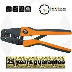 Ratchet Crimping Pliers 22-10 AWG