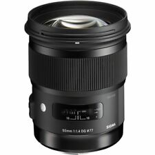 Sigma 50mm f/1.4 DG HSM Art Lens for Nikon Digital Camera Bodies