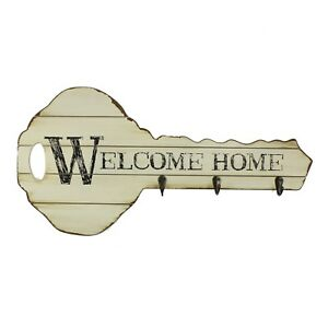 Large WELCOME HOME Key Hook Juliana Home Living Collection 54 cm x 26cm