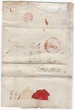 # 1783 INVERNESS PMK WRAPPER RED FREE EDINBURGH & LONDON BISHOPMARKS GEORGE ROSS