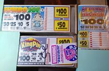 Pull Tabs,casino, 3 Packs My Hammy Breach,jumbo joe,King pin