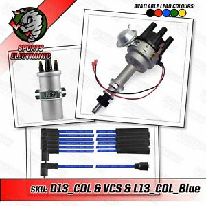 Ford Cologne V6 Electronic Distributor with Viper Coil and Blue Leads
