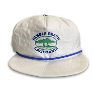 Vintage 80's 90's Pebble Beach California Cap  🇦🇺 Aus Seller