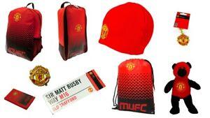 Manchester United Official Merchandise Backpack Bootbag Rucksack Wallet Keyring