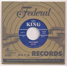 "60's R&B 7"" COZY COLE COZY'S MAMBO LINDA HOPKINS MAMA NEEDS YOUR LOVIN' US KING"
