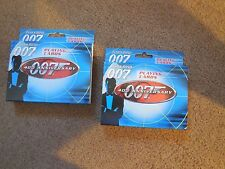 James Bond 007 Playing Cards - 40th Anniversary -  **New in Tin**