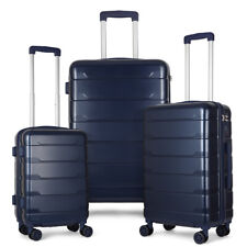 Hardside Lightweight Luggage With Spinner Wheels, 3pcs Set (20/24/28)