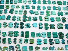 10Pair Top Quality Natural Tibetan Turquoise Matched Pair Cabochon Wholesale Lot