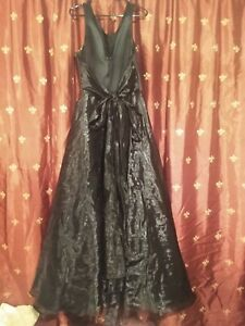 Beautiful Vintage Y2k Black Ball Gown by 1001 Nights XL Size 19/20 Never Worn
