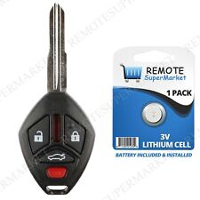 Replacement for 2007-2012 Mitsubishi Galant Eclipse Remote Car Wide Key Fob